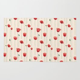 Poppies Time Rug