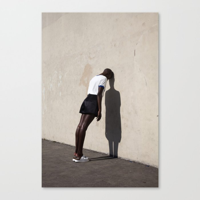 Leaning Canvas Print