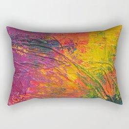 Paint Mess Rectangular Pillow