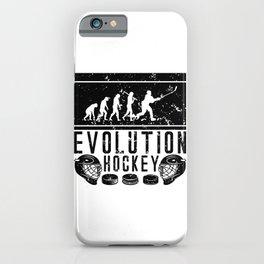 Evolution Hockey iPhone Case
