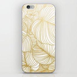 Wilderness Gold iPhone Skin