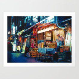 By Lantern Light Art Print