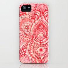 red Slim Case iPhone (5, 5s)