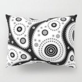 Black And White Paisley Pillow Sham