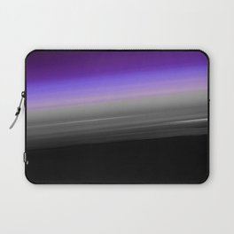 Purple Gray Black Smooth Ombre Laptop Sleeve