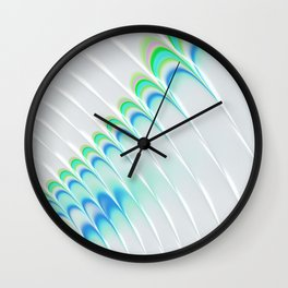 Rippled Arches Wall Clock