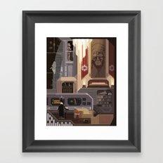 Scene #16: 'Imperial News' Framed Art Print