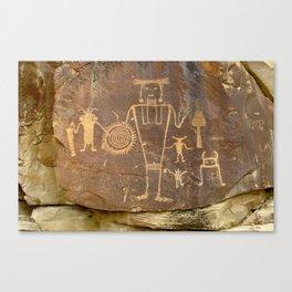 McKee Springs Rock Art Canvas Print