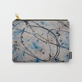 Blue Carnival Carry-All Pouch
