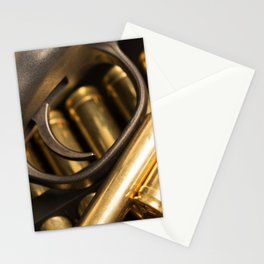 Rifle Trigger and Bullets Stationery Cards