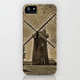 Horsey windpump sepia iPhone Case