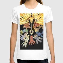 Naruto and Bijuu T-shirt