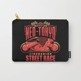Neo-Tokyo Street Race Champion Carry-All Pouch