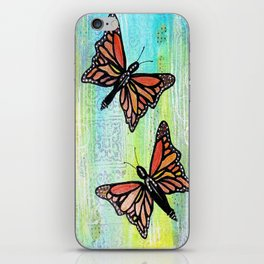 Butterfly Dance iPhone Skin