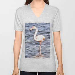 Just Like A Flamingo Unisex V-Neck