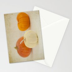 Three Little Pumpkins Stationery Cards