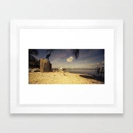 Gecko Heaven  Framed Art Print
