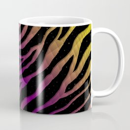 Ripped SpaceTime Stripes - Yellow/Purple Coffee Mug