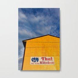 Thai Kitchen Metal Print