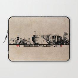 Thessaloniki skyline city Laptop Sleeve