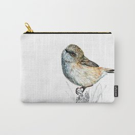 Mr Riroriro, the New Zealand Grey Warbler Carry-All Pouch