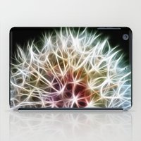 fractal iPad Cases featuring Fractal dandelion by Mark Nelson