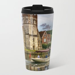 On The Thames At Bisham Travel Mug