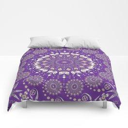 Ancestors (Purple) Comforters