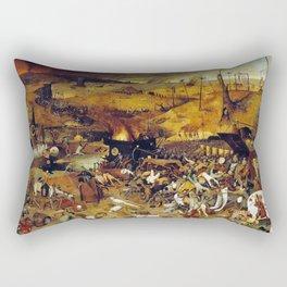 Bruegel the Elder The Triumph of Death Rectangular Pillow