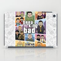 gta iPad Cases featuring Lego Gta Mashup Breaking Bad by Akyanyme