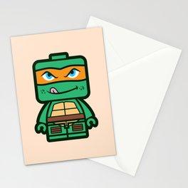 Chibi Michelangelo Ninja Turtle Stationery Cards