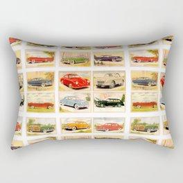 Vintage Rides Rectangular Pillow