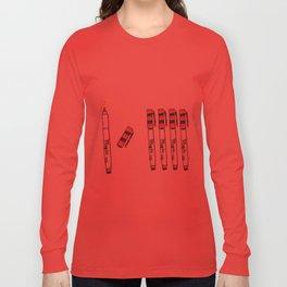 Magic Markers Long Sleeve T-shirt