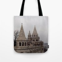 budapest Tote Bags featuring Budapest by L'Ale shop