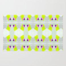 Polygon Neon Rug