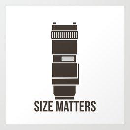 Size Matters Art Print