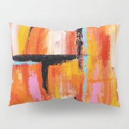Abstract Orange 2 Pillow Sham