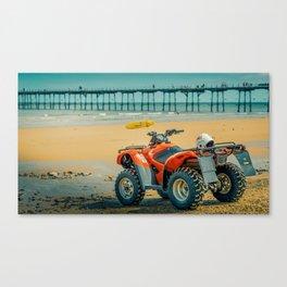 Vintage Baywatch Canvas Print
