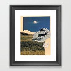 planet earth Framed Art Print