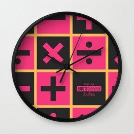 JoJo Vento Aureo Trish Una Wall Clock
