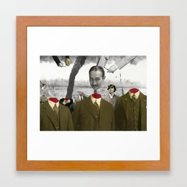 Head Swap Framed Art Print