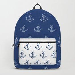 Ancre de bateau (estampe) Backpack