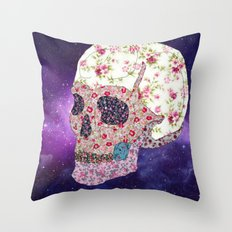 Liberty Skull Throw Pillow