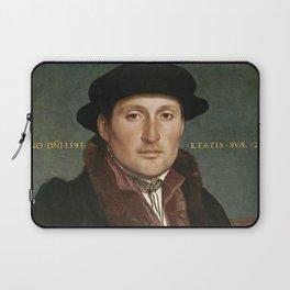 Vintage Tudor portrait Hans Holbain Laptop Sleeve