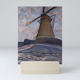 Piet Mondrian - Windmill, 1917 Mini Art Print