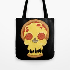 Deadly pizza Tote Bag
