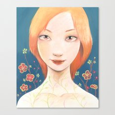 0001_Kindai Canvas Print