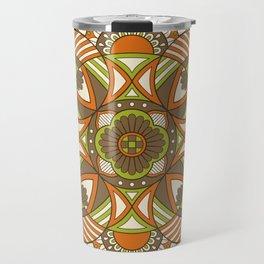 Boho Geometric Pattern 21 Travel Mug