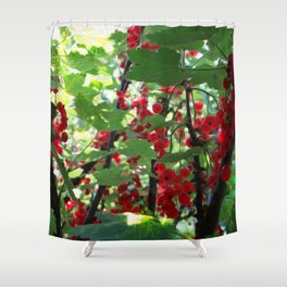 Super Fruit - We be jamming! Shower Curtain
