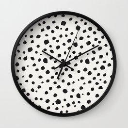 Spots Animal Print Wall Clock
